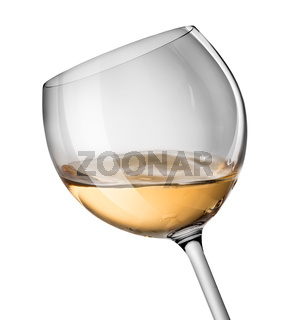 Wave in wine glass