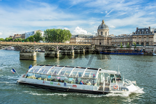 The Seine river in Paris , France