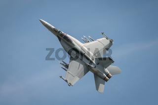 USAF F18f Super Hornet aircraft