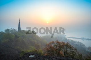 hangzhou sunrise