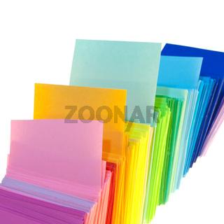 Various color paper