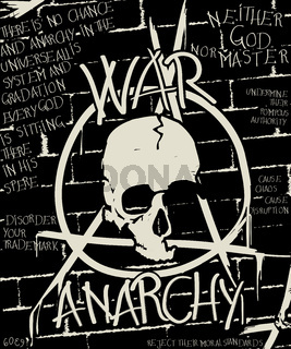 War and anarchy poster