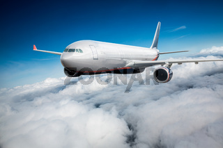 Passenger Airliner in the sky