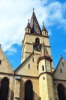 Sibiu city Romania Lutheran Cathedral
