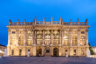 City Museum in Palazzo Madama, Turin, Italy