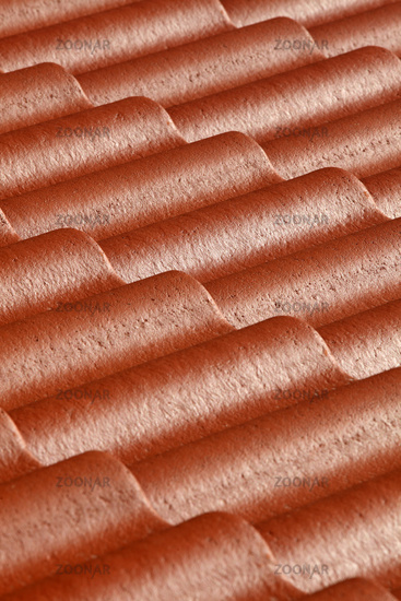 Pattern of red roof