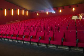 Blick in einen Kinosaal
