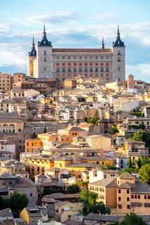 Toledo Cityscape Spain