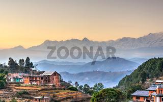Bandipur village in Nepal