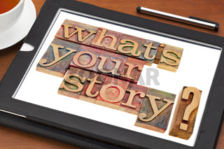 what is your story question