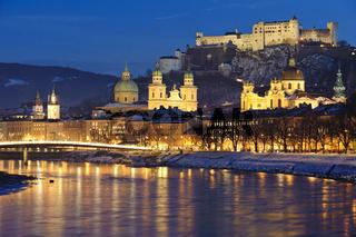 Salzburg am Weihnachtsabend