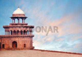 Fort Tower of Taj Mahal complex