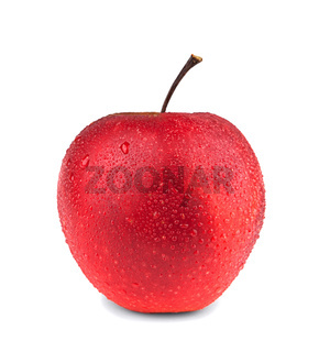 Red apple with droplet