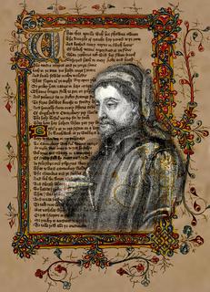 Geoffrey Chaucer, ca. 1343 - 1400, Canterbury Tales