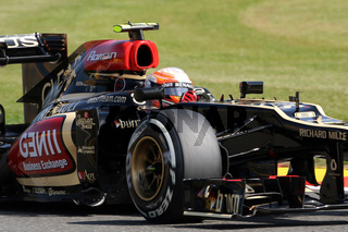 Romain Grosjean, Lotus Renault F1