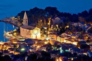 Colorful coastal town of Veli Losinj