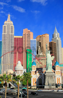 New York - New York hotel and casino, Las Vegas Nevada