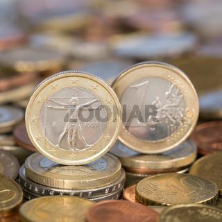 1 Euro Münze aus Italien