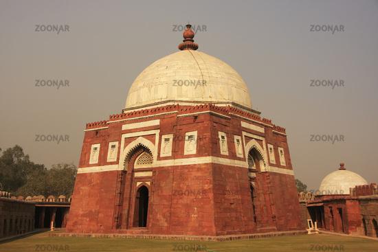 Mausoleum of Ghiyath al-Din Tughluq, Tughlaqabad Fort, New Delhi