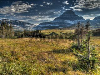 Atemberaubende Landschaft im Glacier National Park