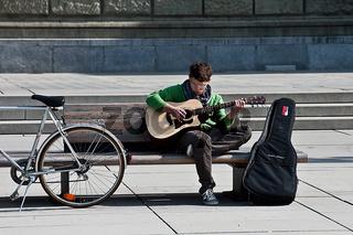 Gitarrenspieler