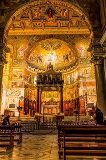 Rom. Kirche Santa Maria in Trastevere