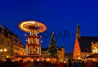 Zwickau Weihnachtsmarkt - Zwickau christmas market 02
