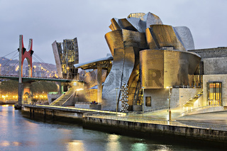 Guggenheim-Museum, Bilbao, Baskenland, Spanien