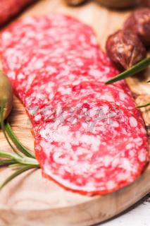 Salami antipasto
