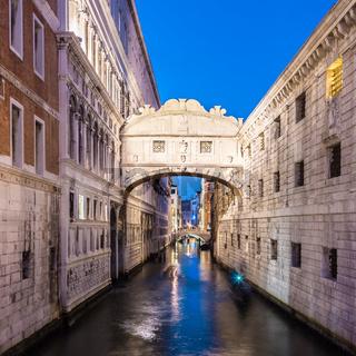 Bridge of Sighs, Venice, Italy.