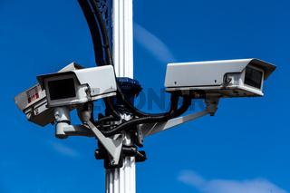 Überwachungskamera und Sicherheit
