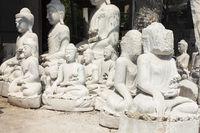 Unfinished Buddhas