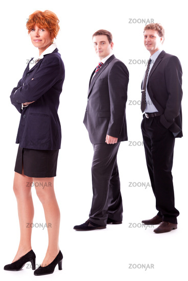 business team diversity happy isolated