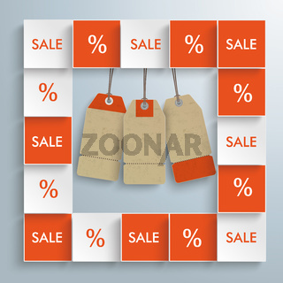 Sale Squares Price Stickers PiAd
