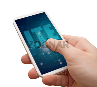 LTE Mobile Internet in Smartphone