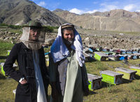 Imker in Nordafghanistan