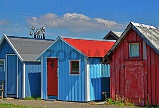 Bootshuetten in Skane - Südschweden
