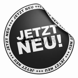 3D Aufkleber Schwarz - Jetzt Neu!