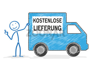 Stickman Shipping Car Free Shipment