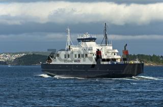 Fährschiff Ullensvang zwischen Stavanger und Tau