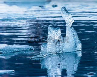 Schwimmendes Eis, Hornsund, Spitzbergen