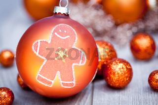 festive glitter christmas decoration bauble seasonal