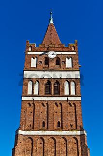 Church of St. George (Kirche Friedland). City Pravdinsk (until 1946 Friedland), Kaliningrad oblast, Russia