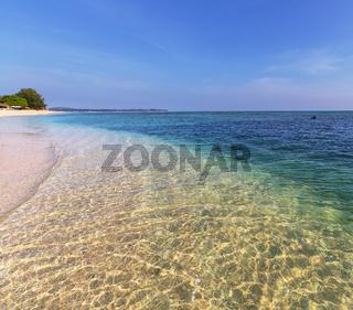 Beach on Gili