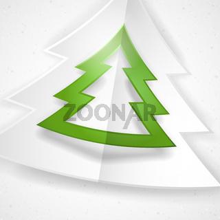 Simple Paper Christmas Tree.