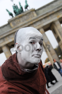 Straßenkünstler in Berlin
