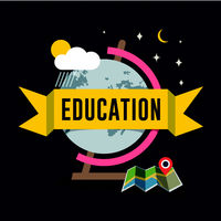Education flat design concept for web and mobile s