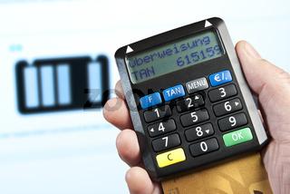 Online-Banking mit TAN-Generator