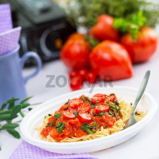 camp pasta