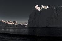 Eisberge in der Discobucht, Grönland